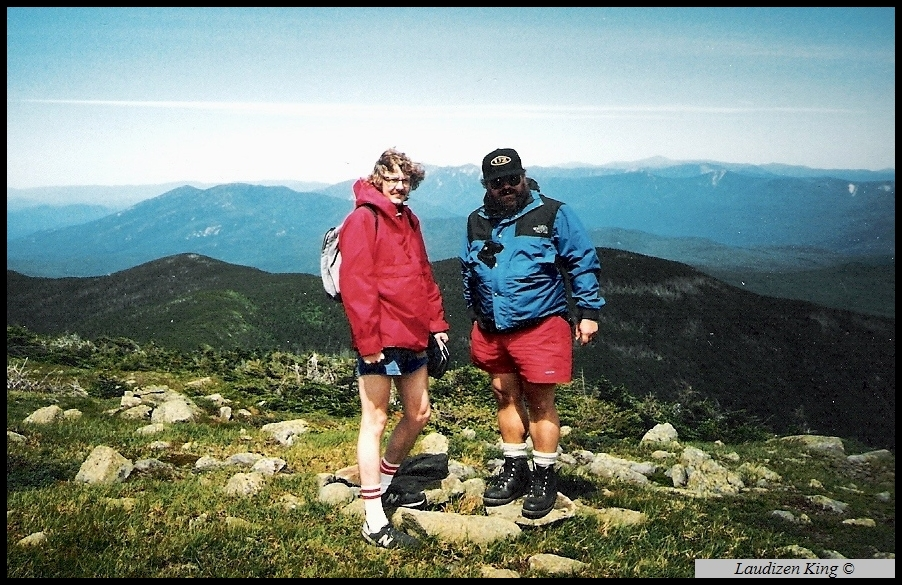 Summit of Moosilauke, White Mountains, NH, 1987