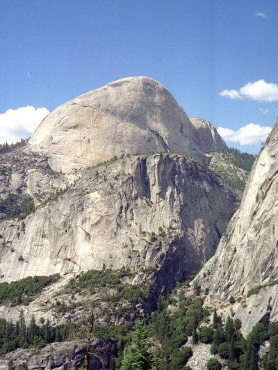 Half Dome from the Rear, Yosemite