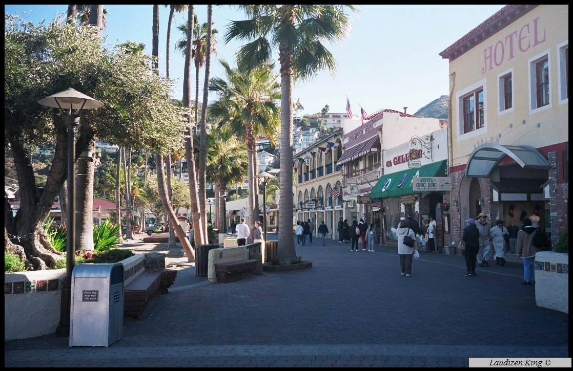 Downtown Avalon - Catalina Island