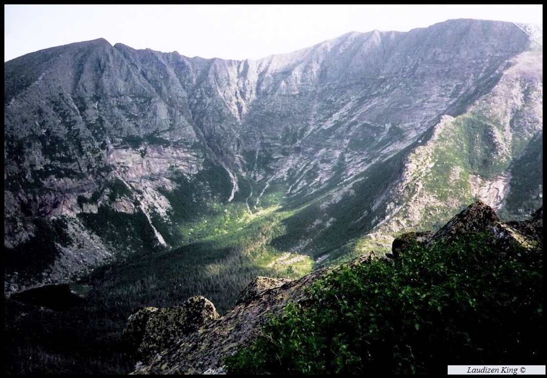 Chimney Pond and Katahdin